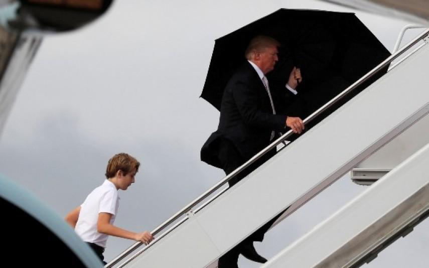 Donald Trump ignora o filho menor e a mulher - TV7 Dias 31544b782ef