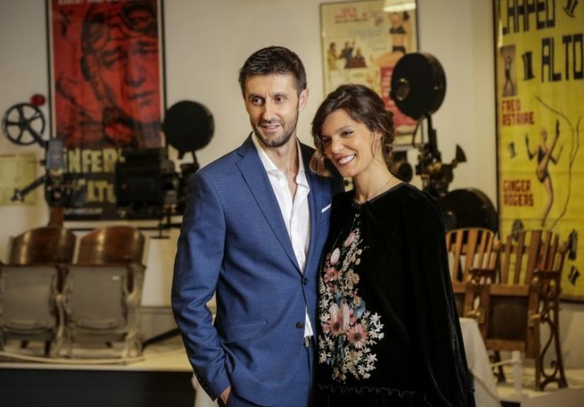 Daniel Oliveira e Andreia Rodrigues