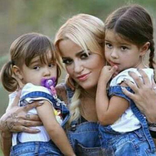 Ruth Marlene e as filhas