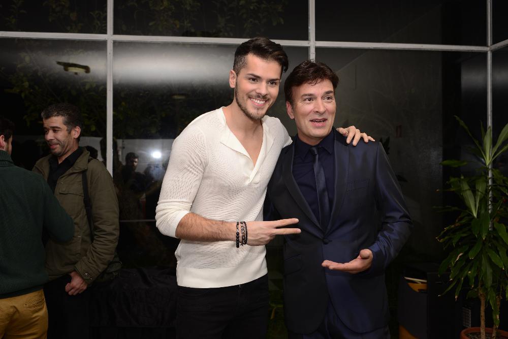 Tony Carreira com Mickael Carreira