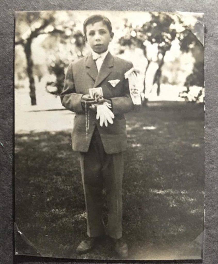 O pai de João Paulo Rodrigues