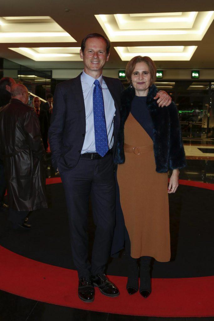 José Rodrigues dos Santos com a mulher, Florbela Cardoso