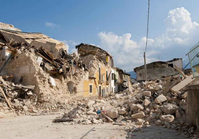 sismo grande reportagem