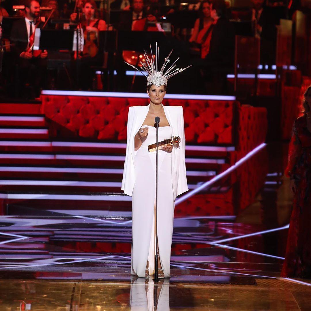 O vestido de Cristina Ferreira nos Globos de Ouro que