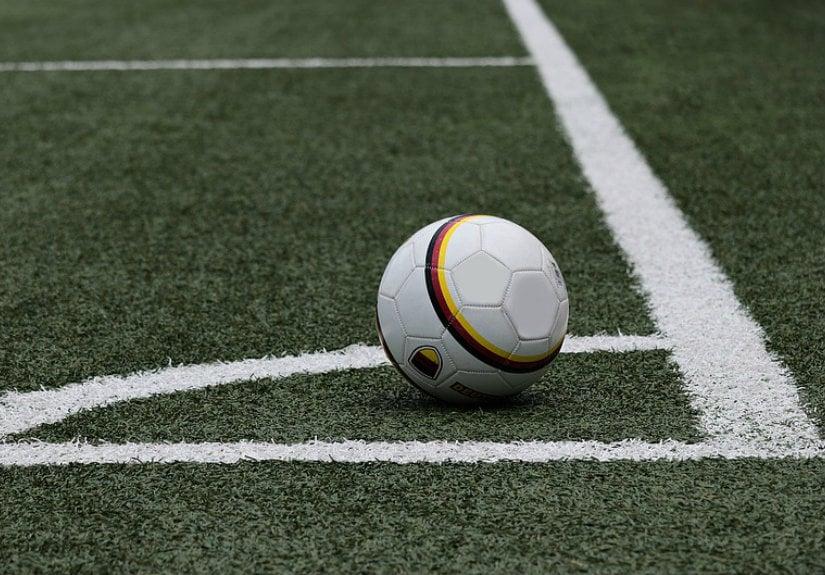 bola campo de futebol