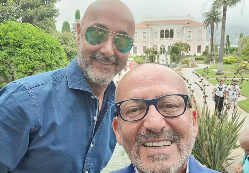 Manuel Luís Goucha e Rui Oliveira Nunes