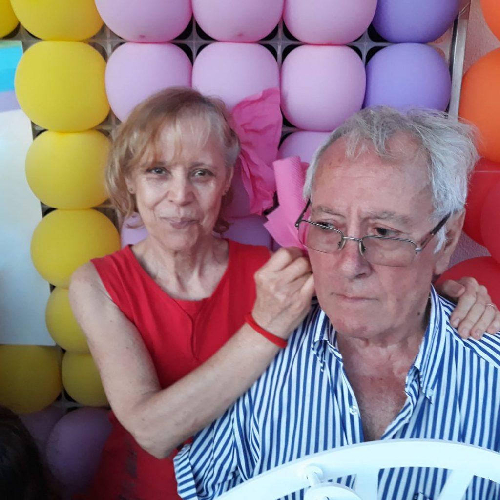 A mãe e o pai de Ruth Marlene