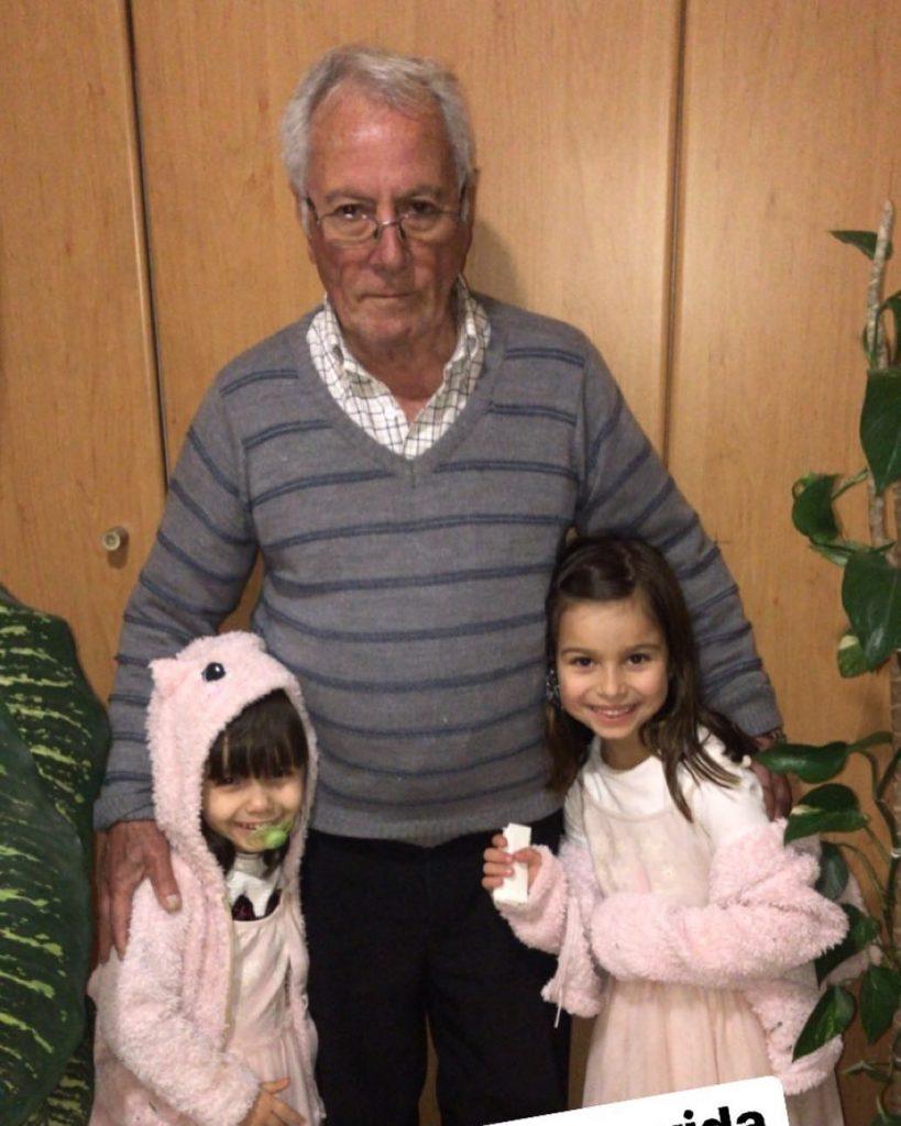 O pai e as filhas de Ruth Marlene