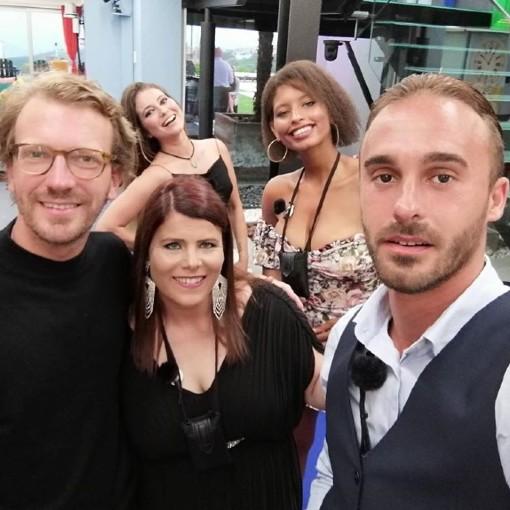 Diogo, Noélia, Daniel Guerreiro, Ana Catharina e Soraia