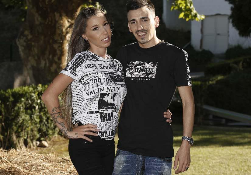 Sónia Jesus e o marido, Vítor Soares