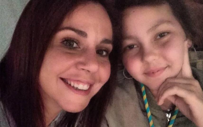 Sara Norte com a irmã, Beatriz