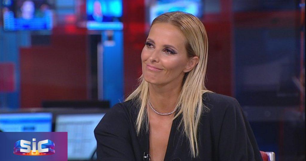 Cristina Ferreira em entrevista no Jornal da Noite, SIC