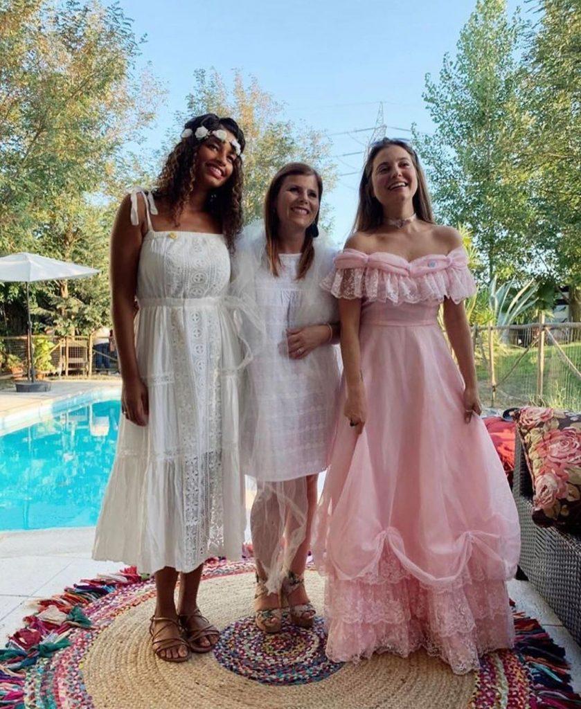 Soraia, Noélia e Ana Catharina