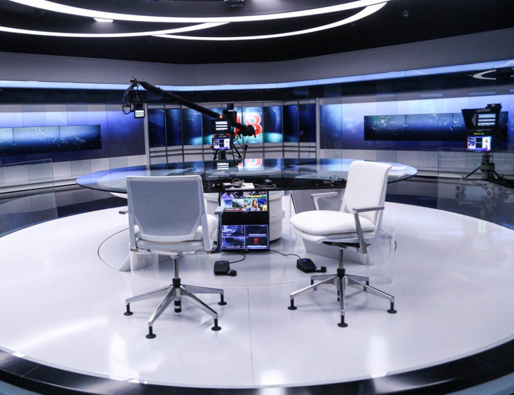 Jornal das 8 estúdio Informação TVI