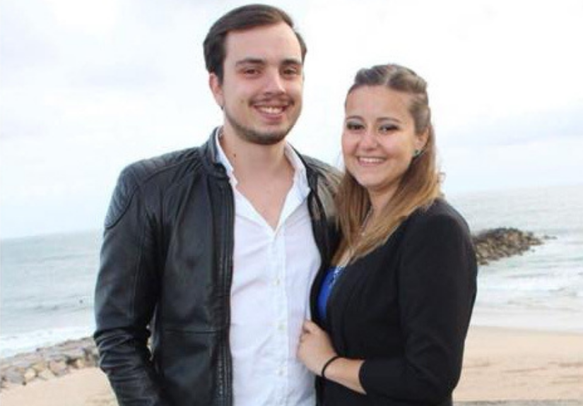 """Tiago Faria e Ana Simões, participantes de """"O Noivo é Que Sabe"""""""