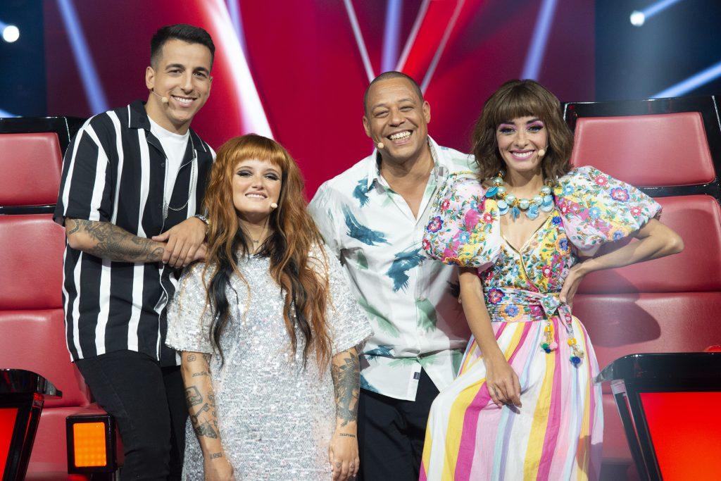 """Fernando Daniel, Carolina Deslandes, Carlão e Marisa Liz são os mentores do """"The Voice Kids"""""""
