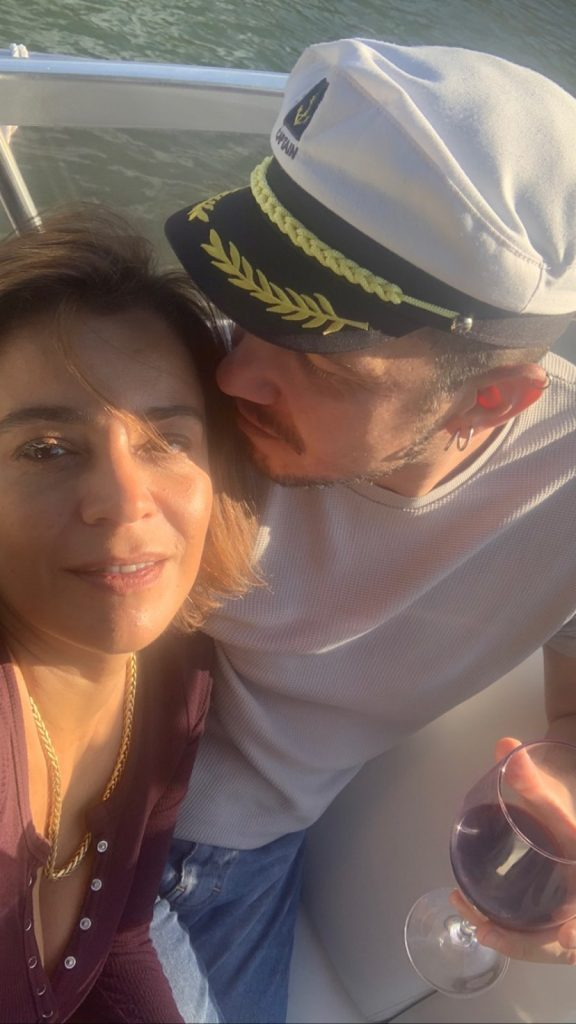 Imagens do fim de semana romântico de Rita Ferro Rodrigues e Ben