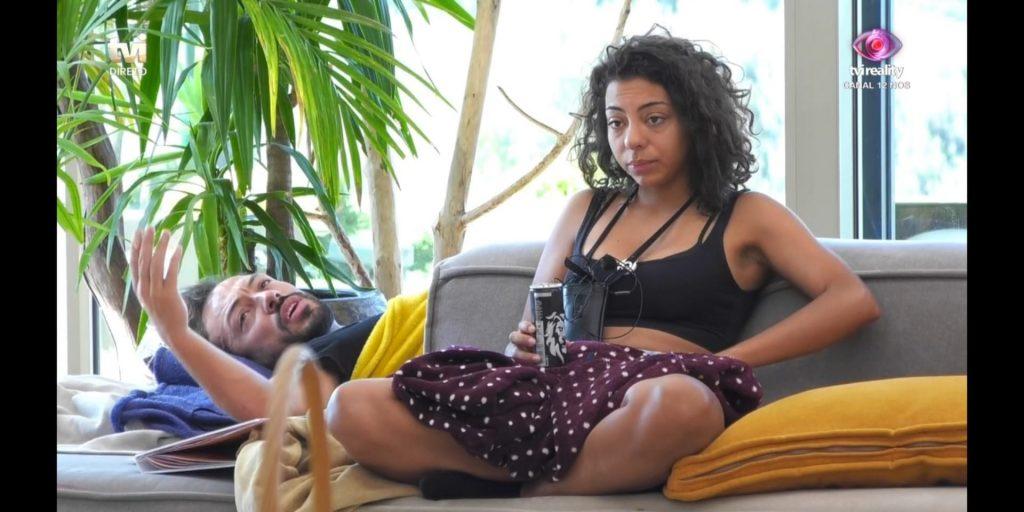 Zena desentende-se com Jéssica Fernandes e André Abrantes