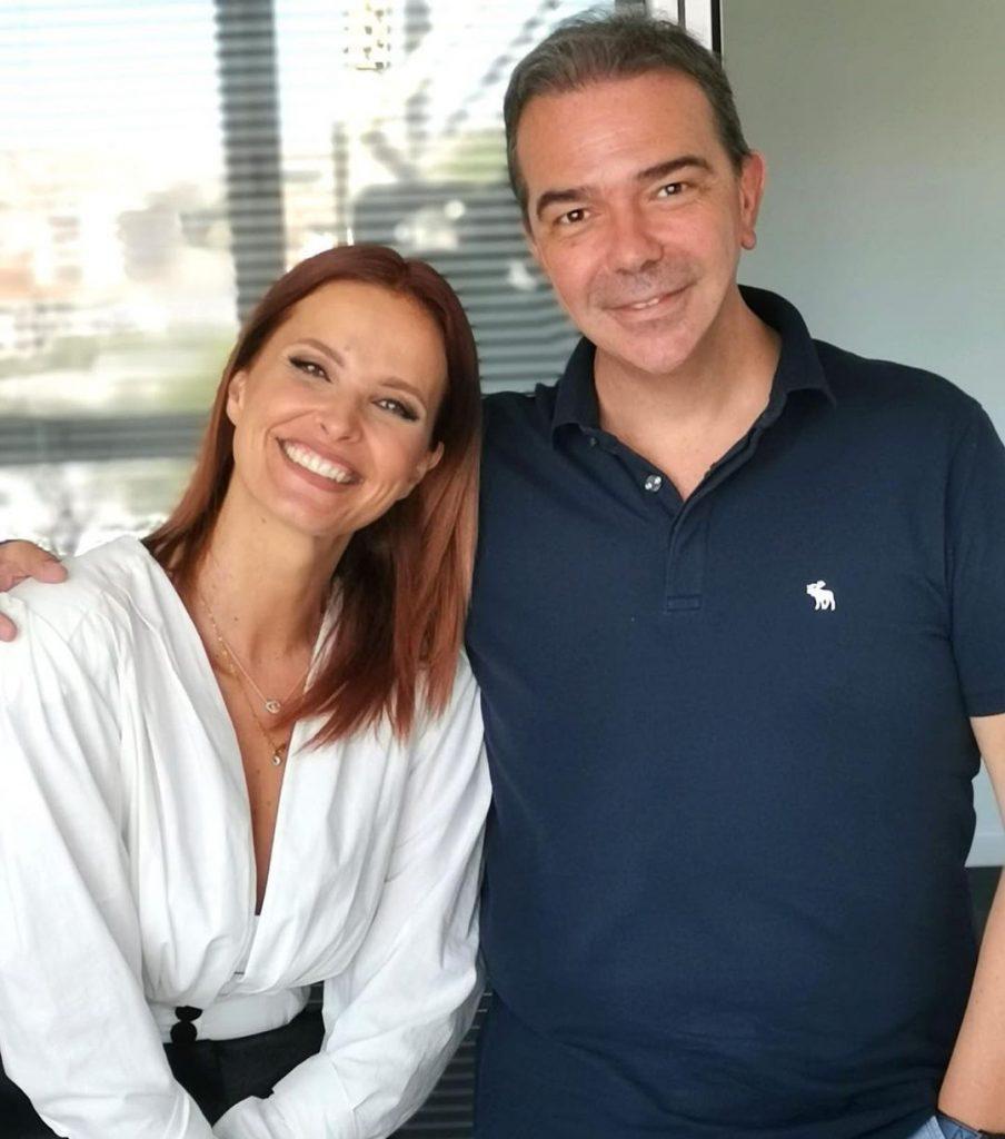 A primeira imagem de Cristina Ferreira com Nuno Santos desde o regresso dela à TVI