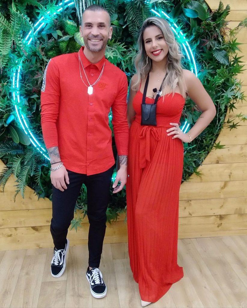 """Bruno Savate e Joana Albuquerque na casa do """"Big Brother"""""""