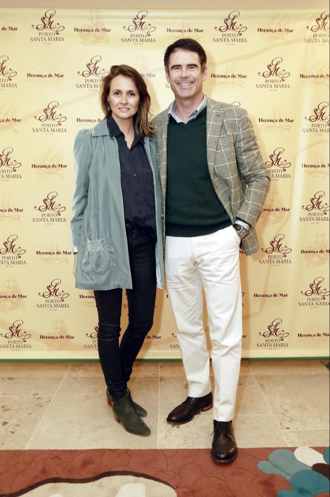 Pedro Lima e a mulher, Anna Westerlund