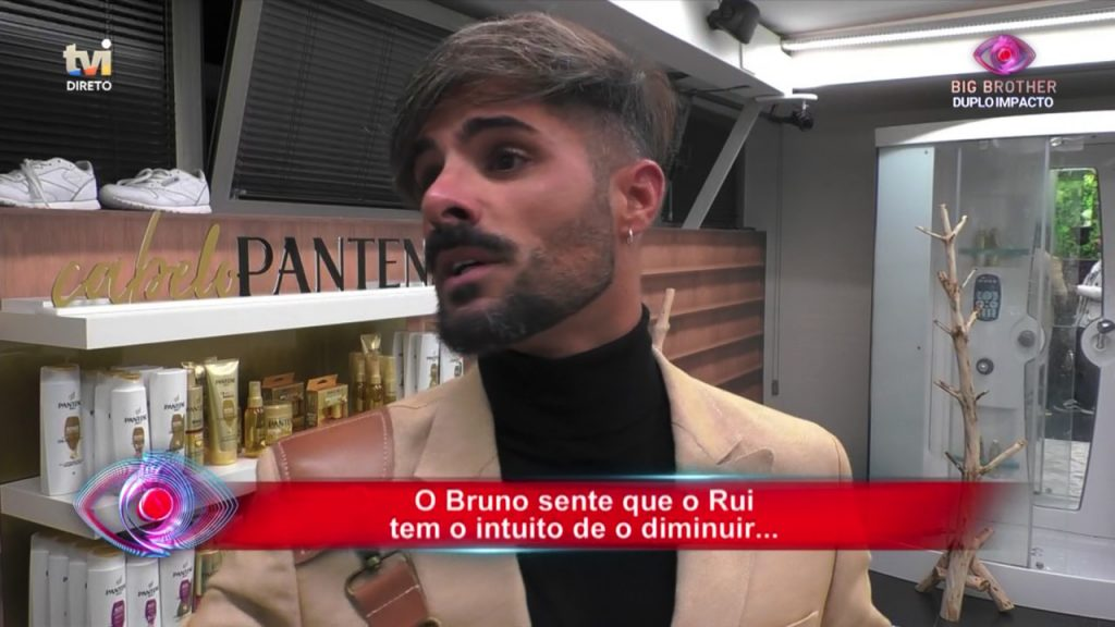 "Bruno Savate e Rui Pedro discutem forte e feio no ""Big Brother"""