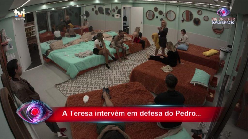 """Bruno Savate e Rui Pedro discutem forte e feio no """"Big Brother"""""""