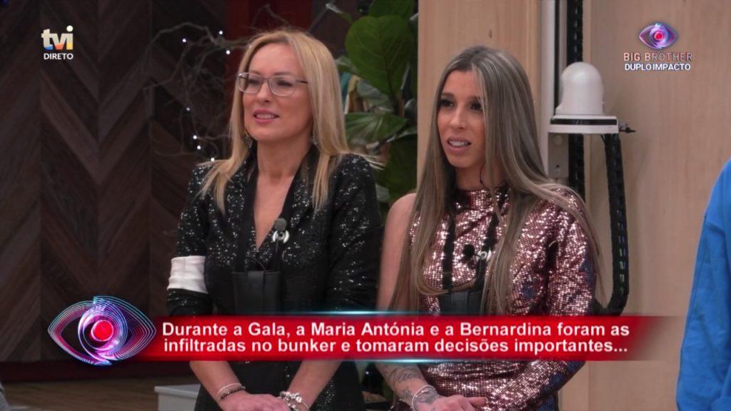 """Depois do confronto com Bernardina Brito na gala do """"Big Brother"""", Teresa insultou a ex-""""Casa dos Segredos"""" de """"badalhoca"""" e """"porquinha-da-índia"""""""