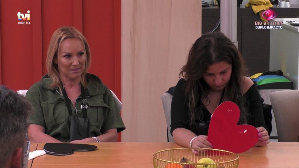 """Teresa exalta-se e tem ataque de fúria com Bruno Savate no """"Big Brother"""""""