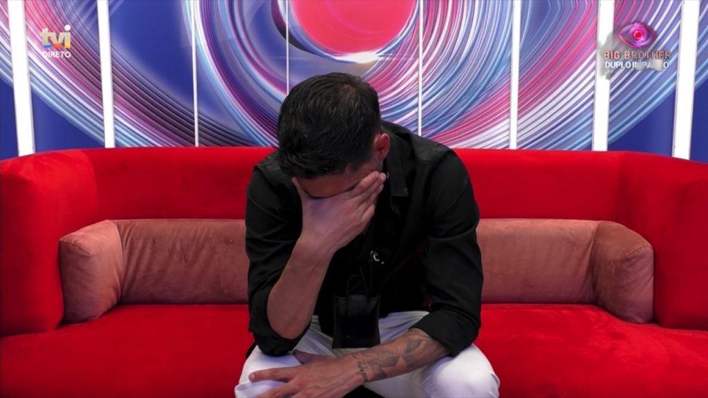 """Gonçalo Quinaz viu o filho no confessionário do """"Big Brother"""" e foi às lágrimas"""
