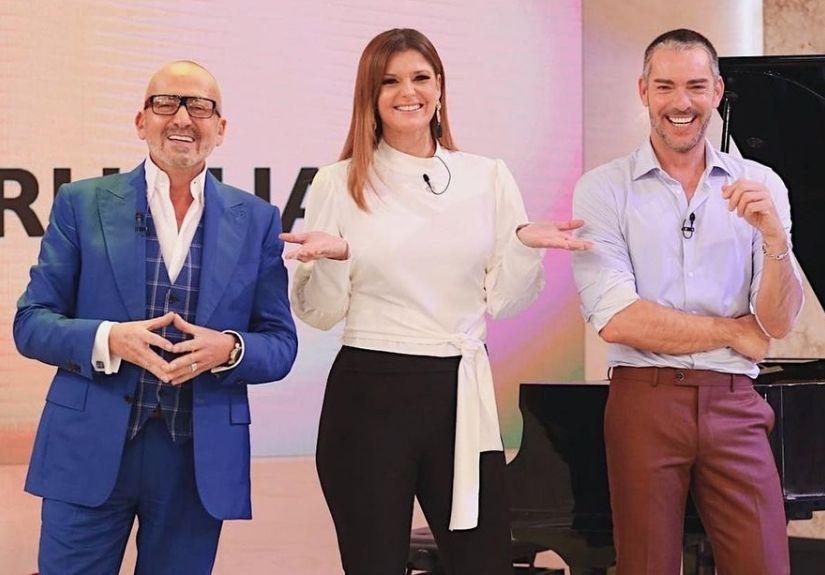 Manuel Luís Goucha,Maria Botelho Moniz e Cláudio Ramos