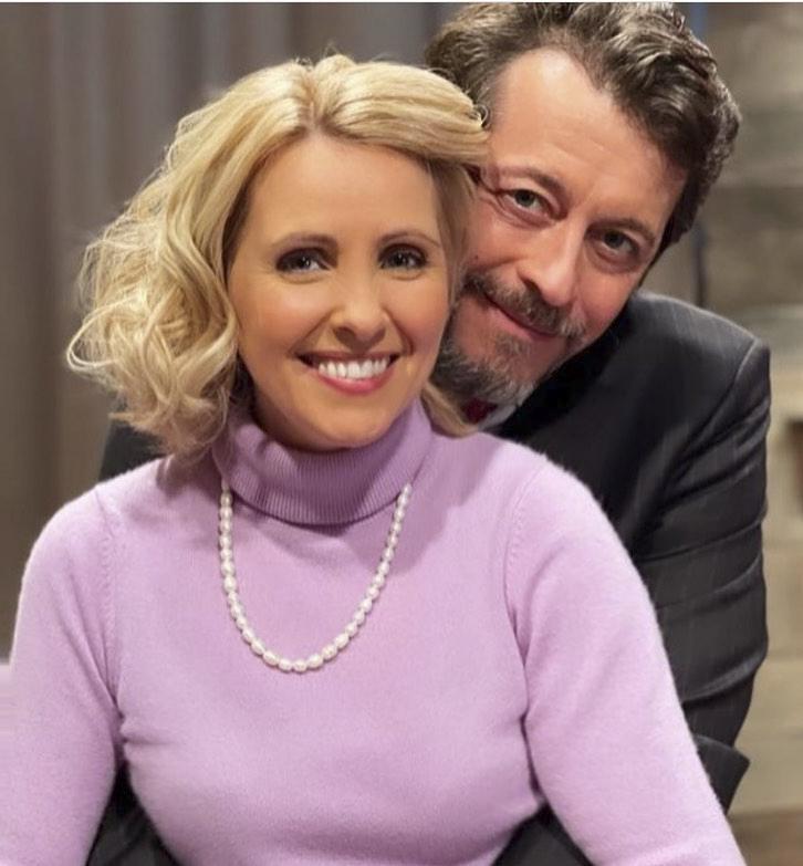 Fernando Pereira Espinho (António Pedro Cerdeira); e Carlota Pereira Espinho (Sofia Alves)