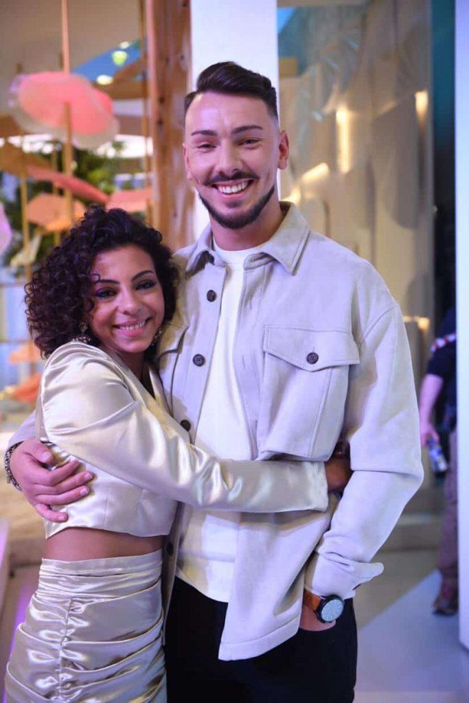 Renato Ribeiro e Jéssica Fernandes