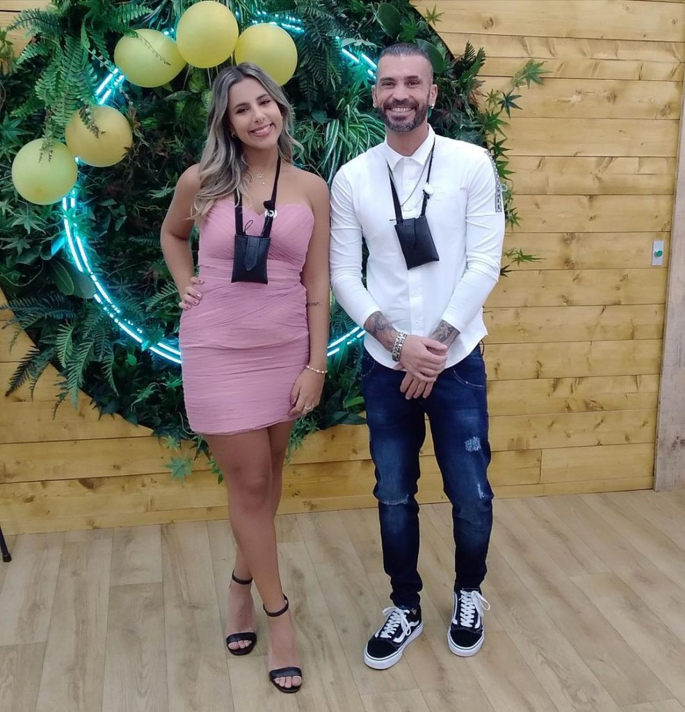 "Bruno Savate e Joana Albuquerque na casa do ""Big Brother"""