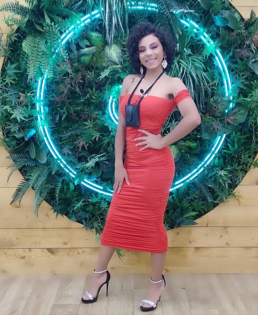 "Jéssica Fernandes na casa do ""Big Brother"""
