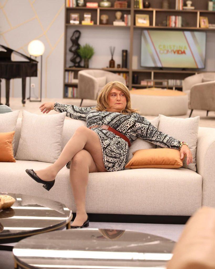 """Eduardo Madeira em """"Cristina ComVida"""""""