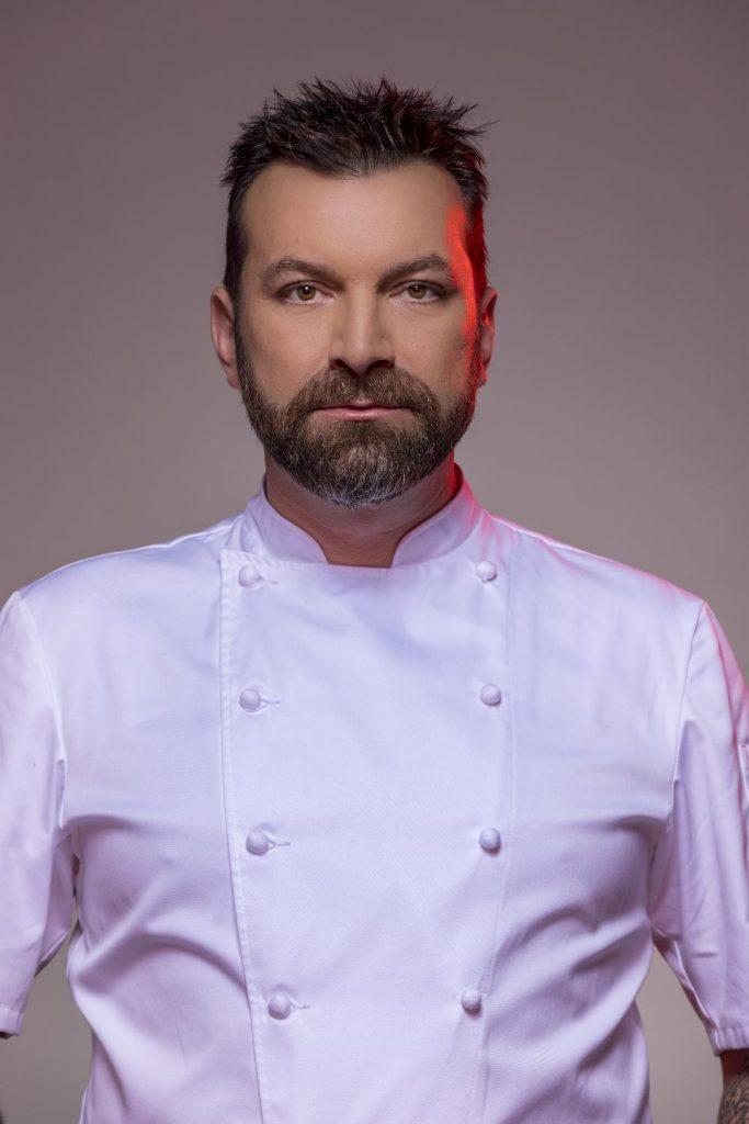 "Ljubomir Stanisic é o anfitrião do programa da SIC ""Hell's Kitchen"""