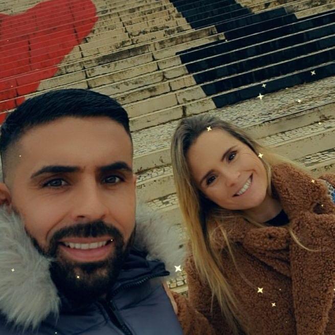 Lucas Rocha e Inês