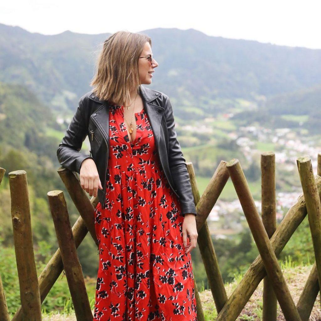 Imagem das férias nos Açores de Ana Garcia Martins, mais conhecida como A Pipoca Mais Doce