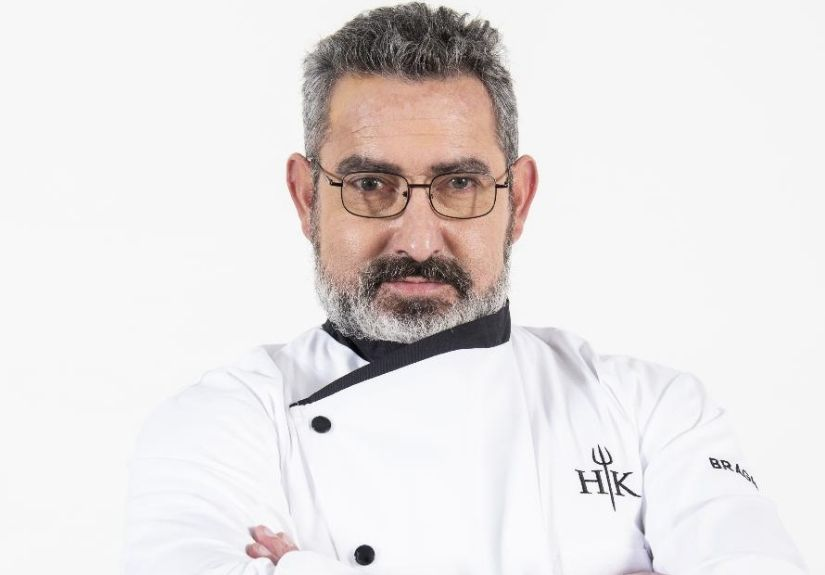 "Raúl Emmerich, ex-concorrente do programa da SIC ""Hell's Kitchen"""