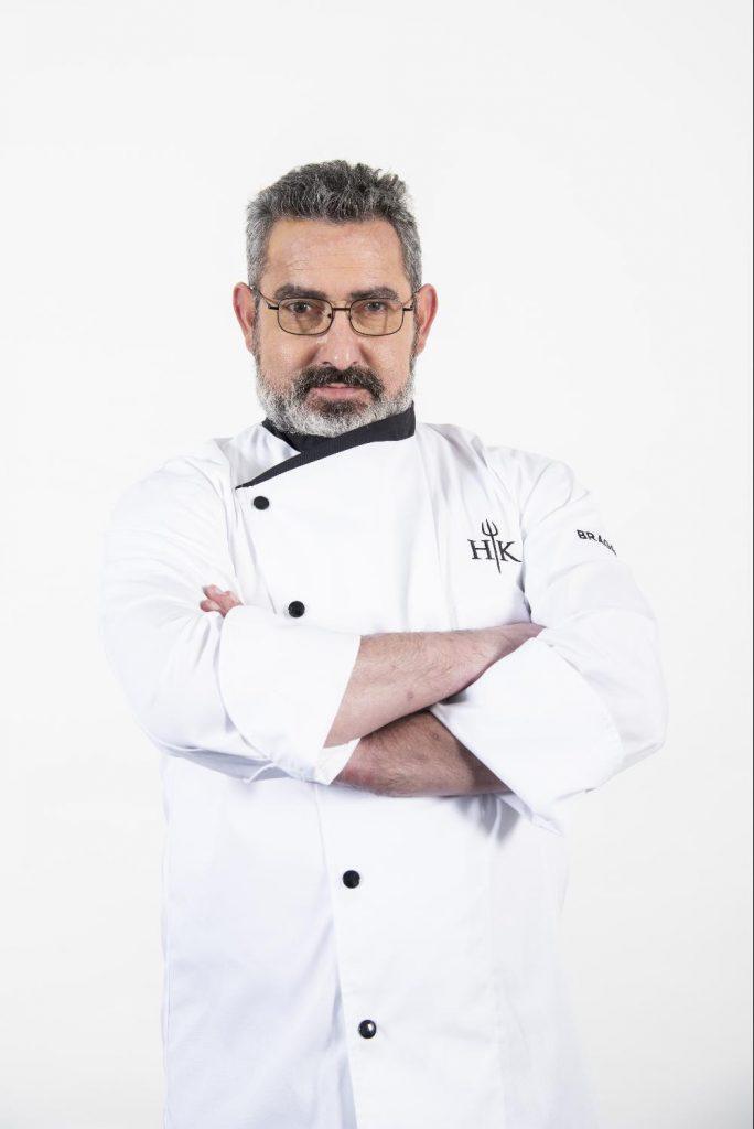 """Raúl Emmerich, ex-concorrente do programa da SIC """"Hell's Kitchen"""""""