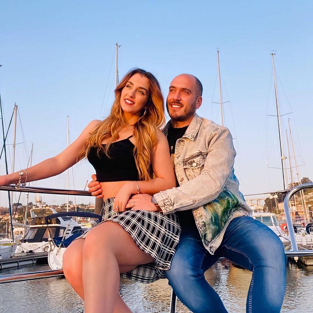 """Daniel Monteiro e Iury Mellany, ex-concorrentes do """"Big Brother 2020"""""""