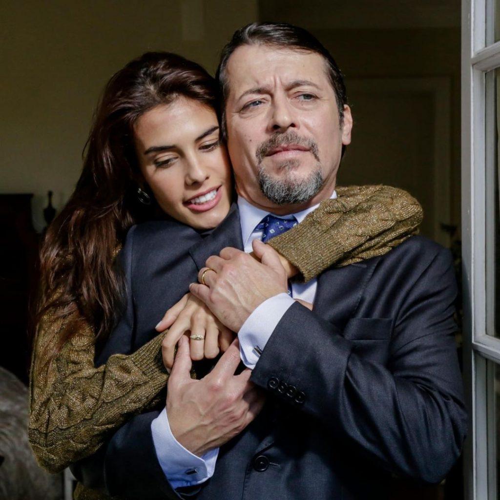 """Isabela Valadeiro e António Pedro Cerdeira em """"A Serra"""""""