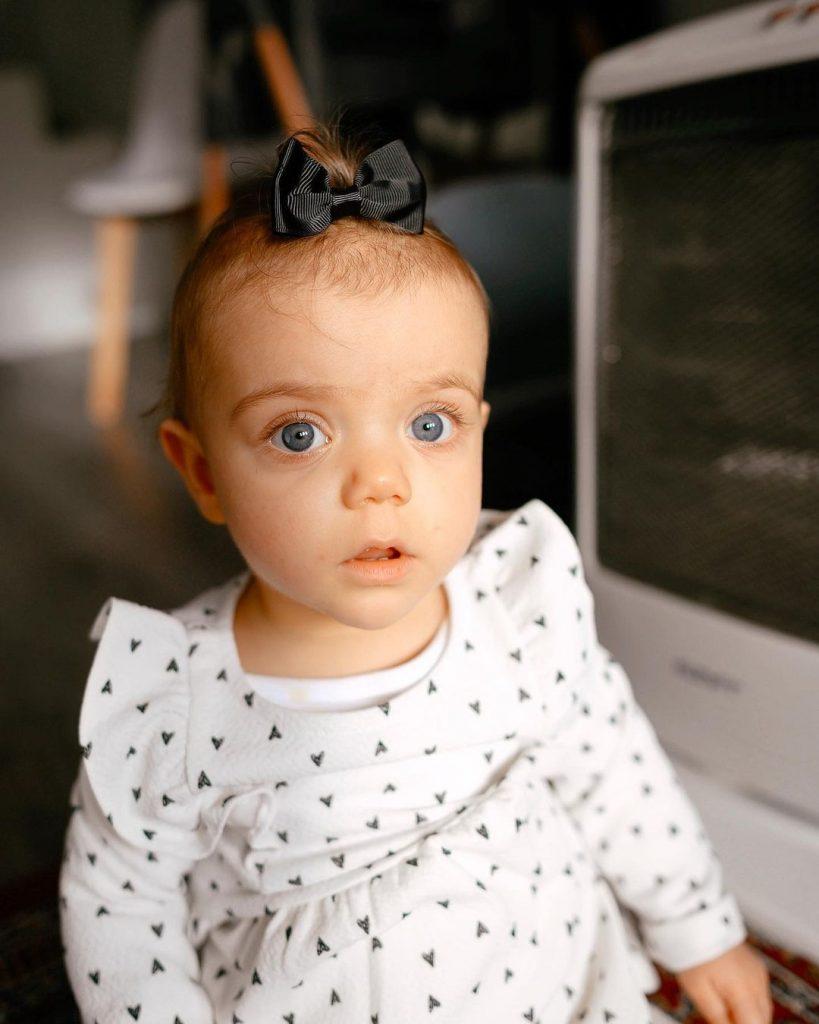 Penélope, a filha de Mel Jordão e Diogo Piçarra