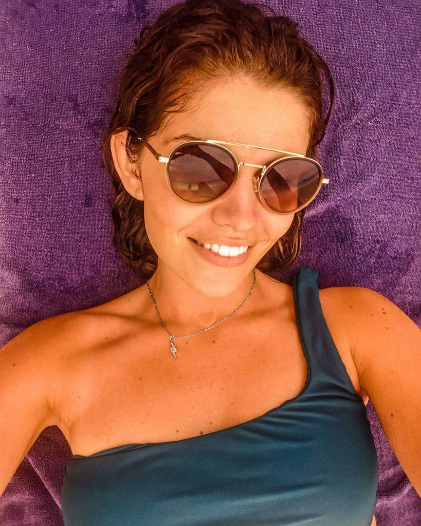 As férias de Sara Sousa Pinto