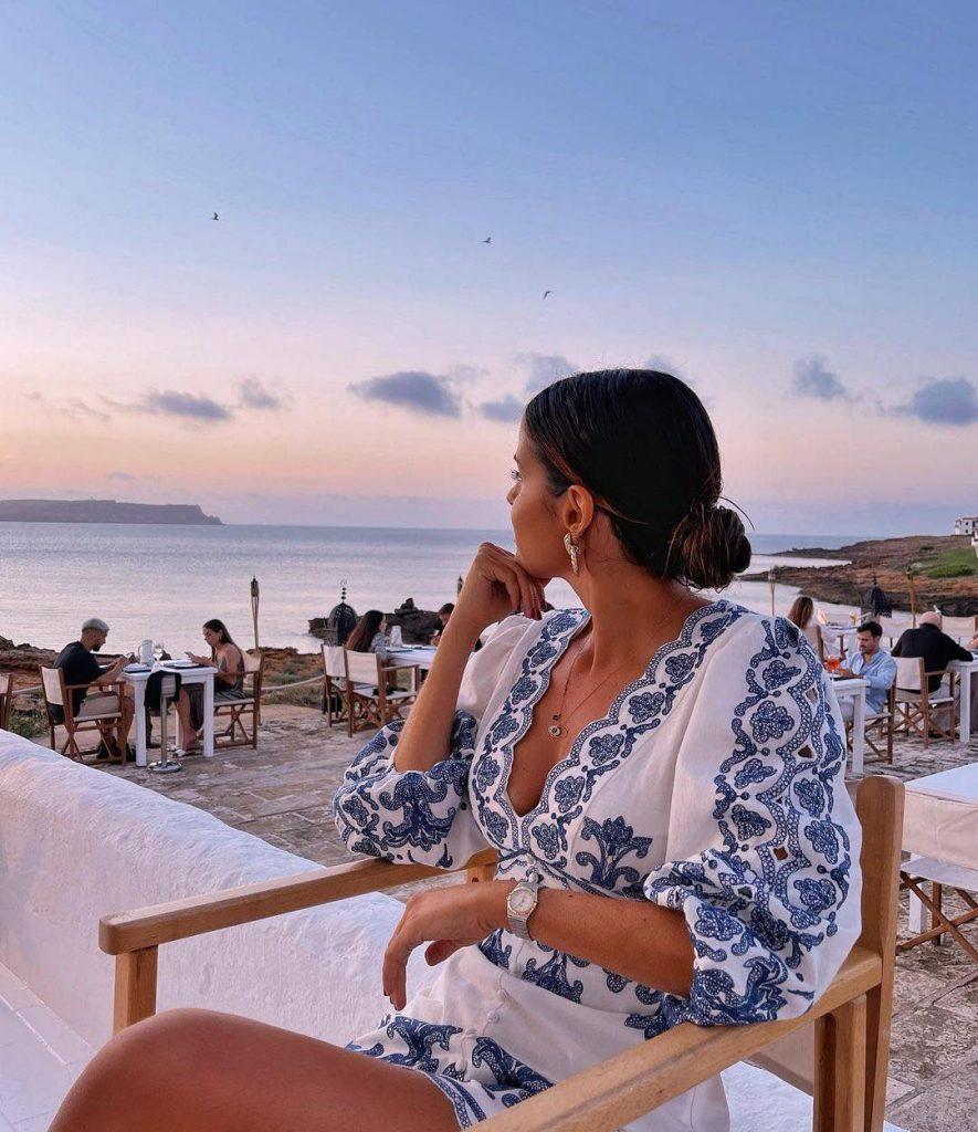 Catarina Gouveia em Menorca
