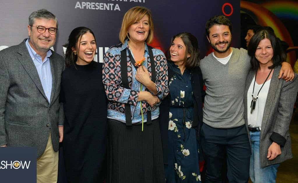 Júlia Pinheiro, Rui Pêgo e os filhos