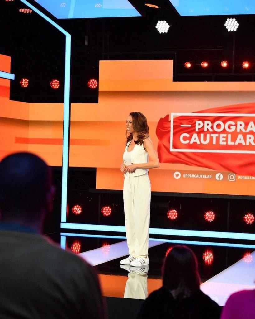 "Filomena Cautela em ""Programa Cautelar"", RTP1"