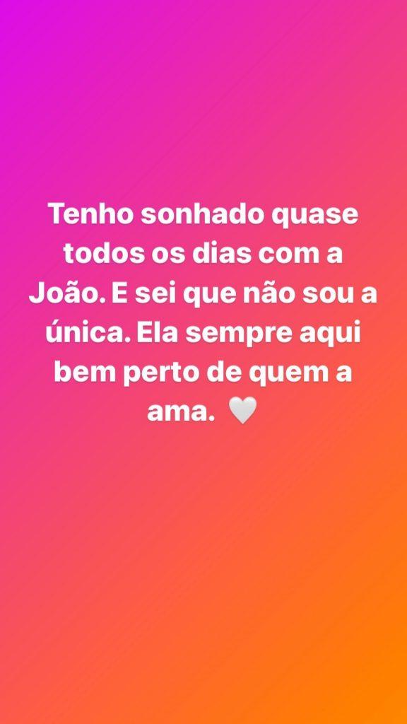 """Cecília Henriques tem sonhado """"quase todos os dias"""" com Maria João Abreu e disse """"não ser a única"""" a fazê-lo"""
