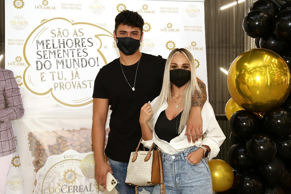 Carlos Aleluia e a namorada